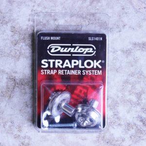 Jim Dunlop SLS1401N Straplok Flush Mount Nickel