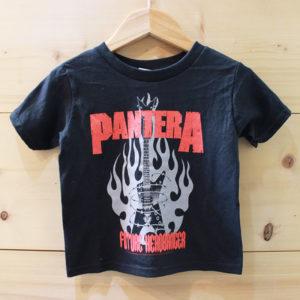 Pantera Rocker Future Headbanger キッズ ロックTシャツ
